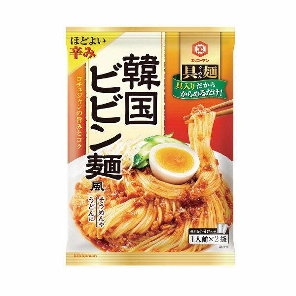 キッコーマン 具麺 韓国ビビン麺風 110g×5個 賞味期限2018.12.20以降【賞味期限間近のため値下げ】