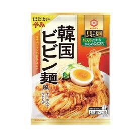 【全品P5倍開催中!!】キッコーマン 具麺 韓国ビビン麺風 110g×10個 賞味期限2020.01.02