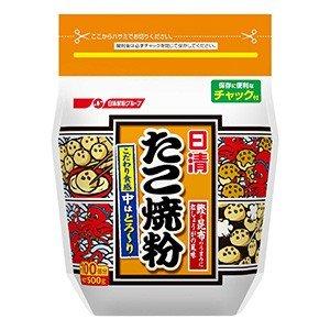 日清フーズ たこ焼き粉 500g×12袋 賞味期限2019.07.13以降