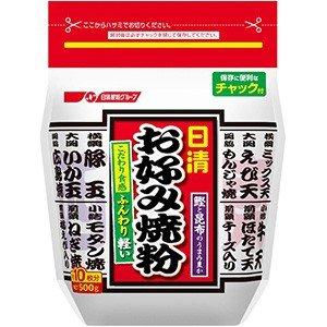 日清フーズ お好み焼き粉 500g×12袋 賞味期限2019.07.19