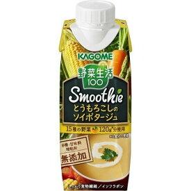 野菜生活100 Smoothie とうもろこしのソイポタージュ 250g×12本 賞味期限2019.10.16以降