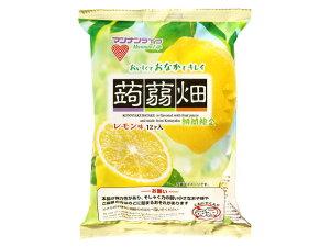 [12個]マンナンライフ 蒟蒻畑レモン味25g×12個入り 賞味期限2021.12.10