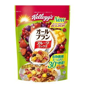 日本ケロッグ オールブランフルーツミックス210g 賞味期限2021.01.31