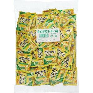三菱食品 かむかむレモン4g×50袋入 賞味期限2022.07.31