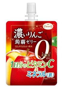 【本日全品ポイント最大7倍】[6個]濃いりんご蒟蒻ゼリー ゼロカロリー 150g 賞味期限2020.03.30