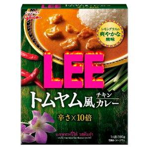 [10個]グリコ LEEトムヤム風チキン10倍 180g 賞味期限2021.04.30
