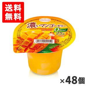 [送料無料][48個]たらみ 濃いマンゴーゼリー0kcal 195g 賞味期限2020.07.05