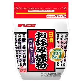【最大300円OFFクーポン有】[送料無料][12個]日清フーズ お好み焼粉 500g 賞味期限2020.04.11以降