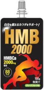 [送料無料][24個]HMB2000 ゼリー 100g 賞味期限2020.06.26【賞味期限間近】