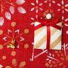 일본 시 장식품 태피 스 트리 크리스마스 트리 레드 45 × 80cm Nippon-ichi Ornament tapestry, Christmas tree