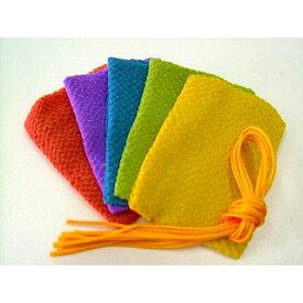 匂い袋用 縮緬袋 5枚入り ※色・柄はお選びいただけません