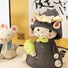 hiro陶构架猫年轻大将(MK154)瀬戸焼的五月装饰端午节、五月玩偶Boys'festival decoration,Setoyaki,Aichi craft
