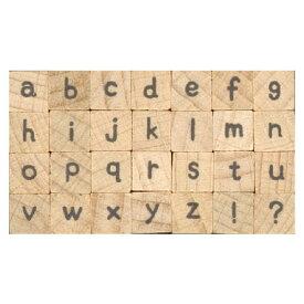 プチ文字スタンプセット小 手書き風小文字 (1228-005) こどものかお Petit character stamp set