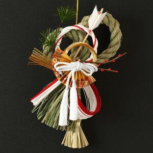 正月飾り注連飾り竹治郎雪月風花破魔矢