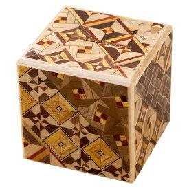 箱根寄木細工 さいころ秘密箱(貯金箱) 箱根伝統工芸品 Hakone Yosegi-zaiku, Wooden puzzle box, Piggy bank