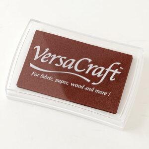 スタンプ用インク バーサクラフト(VersaCraft) チョコレート (19942-154) 布用・顔料系水性インク こどものかお Stamp ink