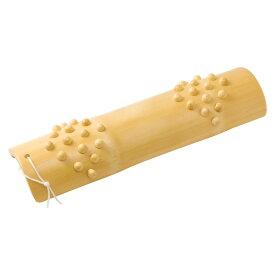 竹足ふみ 足裏ツボ刺激で健康マッサージ Bamboo foot massager