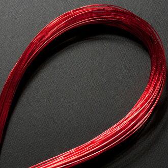 它不能發出固體 mizuhiki 100 書集淡紅色 (一兆韋德-01) *