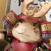 金西战士饰品树脂 (MK855) jiki 小月饰品男孩,可能娃娃 Setoyaki 小月装饰