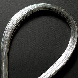 単色水引100本セット 光 銀 (MZH-18)