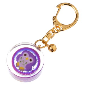 nanaco plus+ 飴のキーホルダー 縁起飴 フクロウ(学力向上) ナナコプラス Candy key ring