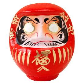 高崎だるま 縁起だるま 3号(高さ15cm)赤 群馬県指定ふるさと伝統工芸品 Takasaki daruma engi daruma Gunmaken traditional crafts