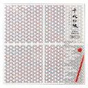 千代切紙 3種アソート 二寸五分(1/4サイズ) 麻の葉・青海波・七宝 (BFCK-043) レーザー加工による切り絵のよう…