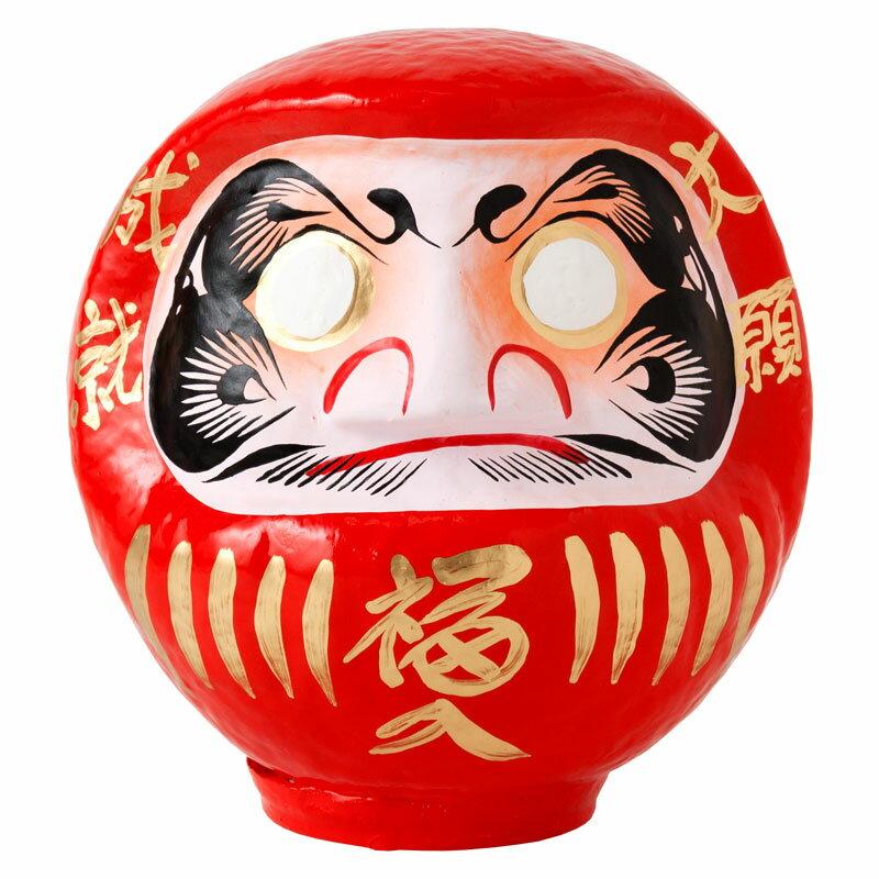 高崎だるま 縁起だるま 4号(高さ17cm)赤 群馬県指定ふるさと伝統工芸品 Takasaki daruma engi daruma Gunmaken traditional crafts
