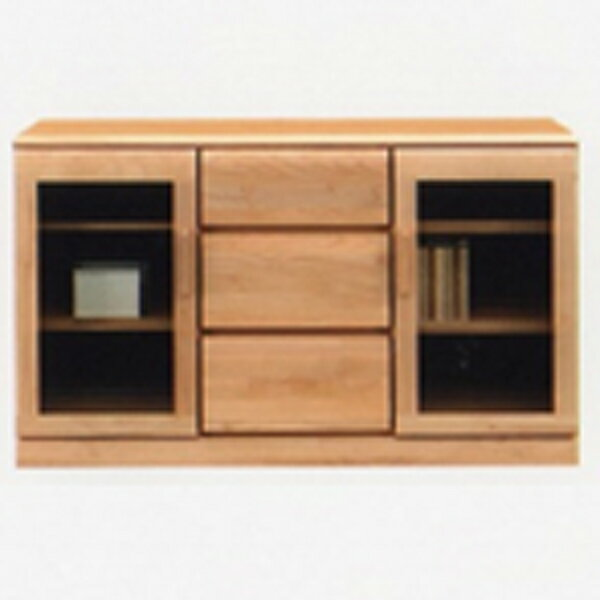 キャビネット サイドボード リビングボード リビングチェスト 収納家具 木製 幅120cm リビング収納 日本製 完成品 送料無料