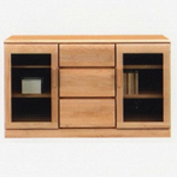 サイドボード リビングボード キャビネット 幅120cm リビング収納 リビングチェスト 収納家具 木製 日本製 完成品 送料無料