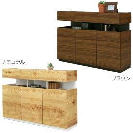 リビングボード キャビネット 完成品 サイドボード 木製 日本製 国産 おしゃれ 北欧 モダン 幅115cm リビング収納 送料無料
