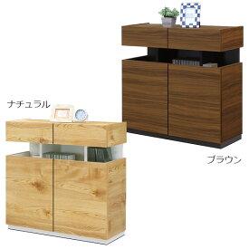 リビングボード キャビネット 完成品 サイドボード 木製 日本製 国産 おしゃれ 北欧 モダン 幅80cm リビング収納 送料無料