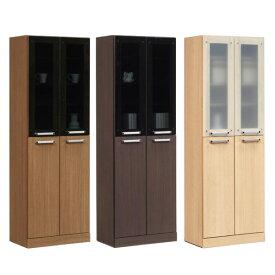 本棚 フリーボード リビング収納 収納家具 書棚 飾り棚 扉付き 木製 幅60cm 完成品 日本製 北欧風 シンプル おしゃれ モダン