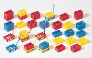 Preiserプライザー17113 ハンドリフト、箱【HO人形】【組立キット】【ジオラマ人形】