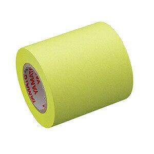 ロール付箋 ロールふせん ヤマト メモックロールテープ 詰替え用 蛍光色 50mm幅 RK-50H-LE レモン (付箋メモ 付せん ふせん 付箋紙 テープ ラベル マスキングテープ はがせる 剥がせる おしゃ