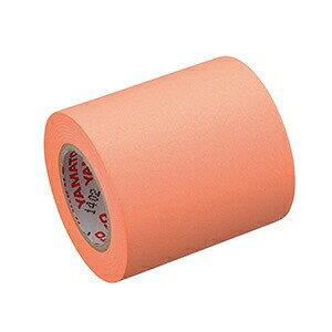 ロール付箋 ロールふせん ヤマト メモックロールテープ 詰替え用 蛍光色 50mm幅 RK-50H-OR オレンジ (付箋メモ 付せん ふせん 付箋紙 テープ ラベル マスキングテープ メモック はがせる おしゃ