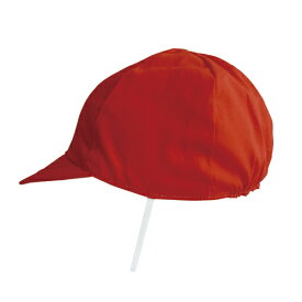 デビカ紅白帽子 赤白帽子 体操帽子 メール便送料無料 男女兼用 体操服 体操着 運動 小学生 園児 体育
