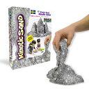 ラングス キネティックサンド シルバー (室内用お砂遊び 動く砂 プレゼント 知育玩具 2歳 3歳 4歳 5歳 プレゼ…