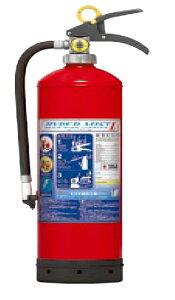 【2019年製 リサイクルシール付】蓄圧式強化液消火器(モリタ宮田工業製)ハイパーミストL LF4