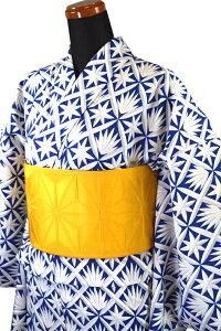 【撫松庵】仕立て上がり浴衣・プレタ浴衣(セオα)「切子(ブルー)」【10P03Sep16】