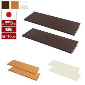日本製 間仕切りパーテーション用 別売り棚板 2枚組 幅120cm用 NJ-0674/NJ-0675/NJ-0676-NS