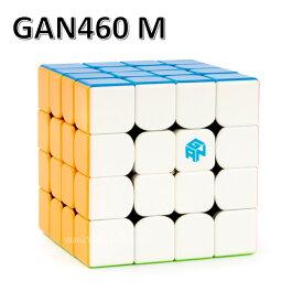 Gancube GAN460 M 競技向け 磁石内蔵4x4x4キューブ GAN 460 M (ステッカーレス)