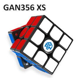 Gancube GAN356 XS 競技向け 磁石内蔵3x3x3キューブ (ブラック)