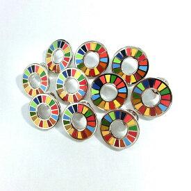国連本部限定販売 SDGs ピンバッジ 日本未発売 UNDP 10個セット