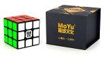 MoYu WeiLong GTS2M ブラック 競技向け 磁石内蔵3x3x3キューブ GTS V2 Magnetic Black