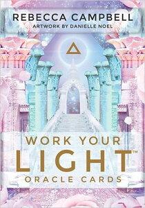 【オラクルカード】 【Hay House】 【正規販売店】 ワーク ユア ライト オラクルカード Work Your Light Oracle Cards 占い 英語のみ