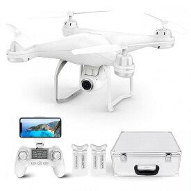 【日本語取説付】Potensic T25 ドローン GPS搭載 高度・座標ホバリング 1080P 120°広角HDカメラ付 フォローミーモード オートリターンモード WIFIリアタイム