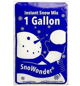 SnoWonder スノーパウダー 人工雪 インスタントスノー 約4リットル (水を入れるだけ簡単)