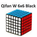 【安心の保証付き】 【正規販売店】 QiYi Qifan W 6x6x6キューブ ブラック ルービックキューブ おすすめ