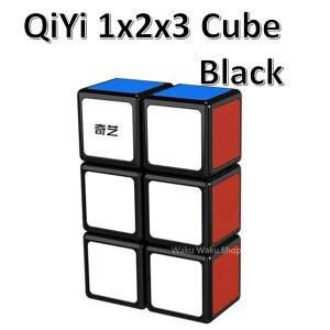 【安心の保証付き】 【正規販売店】 QiYi 123 Cube black 1x2x3キューブ ブラック ルービックキューブ おすすめ